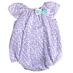 Baby Essentials Size 6M Heart Romper in Lilac