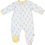 E=MC2 Size 6M Magnetic Pineapple Footie