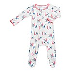 Bestaroo Size 0-3M Peacocks Footie