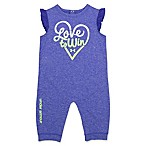 Under Armour® Size 0-3M  Love to Win  Coverall in Purple
