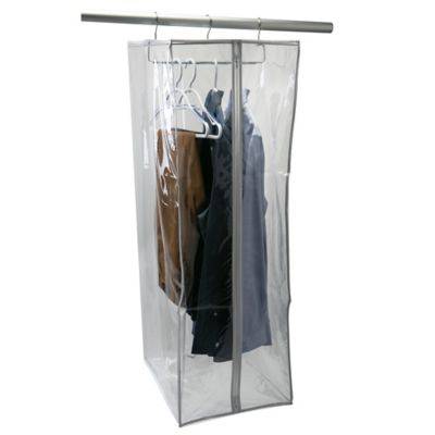 Simplify Crystal Clear Portable Suit Closet