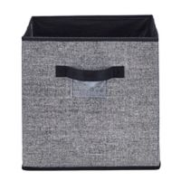 Simplify 12-Inch x 12-Inch Collapsible Storage Box in Black