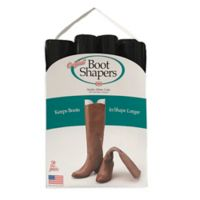 Dial Industries 2-Pack Boot Shaper in Black
