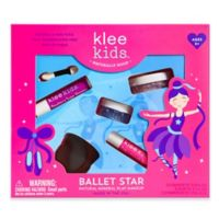 Klee Naturals 4-Piece Ballet Star Natural Mineral Play Makeup Kit