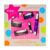 Klee Naturals 4-Piece Shining Through Natural Mineral Play Makeup Kit