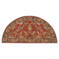 Surya Caesar Vintage-Inspired 2' x 4' Accent Rug in Red/Grey