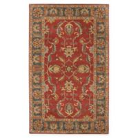 Surya Caesar Vintage-Inspired 5' x 8' Area Rug in Red/Grey