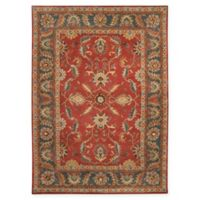 Surya Caesar Vintage-Inspired 8' x 11' Area Rug in Red/Grey