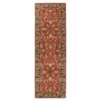 Surya Caesar Vintage-Inspired 3' x 12' Runner in Red/Grey