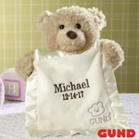 Gund® Embroidered Peek-A-Boo Bear