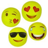 Poolmaster 4-Pack Emoji Inflatable Beach Balls