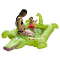 Poolmaster Learn-to-Swim Smiling Crocodile Pool