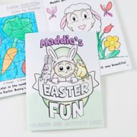 Easter Fun Coloring Activity Book & Crayon Set