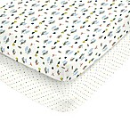 carter's® Camping Fitted Crib Sheets (Set of 2)