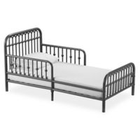 Little Seeds Monarch Hill Ivy Metal Toddler Bed in Grey