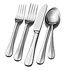 Pfaltzgraff® Simplicity 42-Piece Flatware Set in Silver