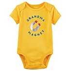 "carter's® Size 6M ""Grandma Magnet"" Short-Sleeve Bodysuit in Yellow"