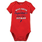 carter's® Newborn Superhero Mommy Bodysuit in Red