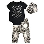 "Mini Heroes Size 3M 3-Piece ""Ride On"" Bodysuit, Pant, and Bandana Set"