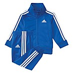 adidas® Size 3M 2-Piece Jacket and Pant Set in Royal