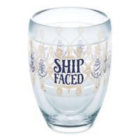 Tervis® Ship Faced 9 oz. Stemless Wine Glass