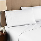 Modern Living 300-Thread-Count Organic Cotton Queen Sheet Set in White