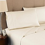 Modern Living 300-Thread-Count Organic Cotton Queen Sheet Set in Ivory