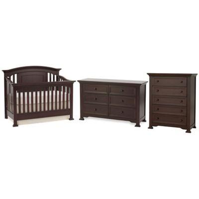 Furniture Collections U003e Kingsley Brunswick 3 Piece Nursery Furniture Bundle  Set In Espresso