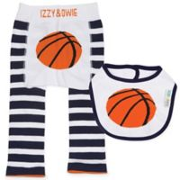Izzy & Owie Size 12-24M 2-Piece Basketball Legging and Bib Set