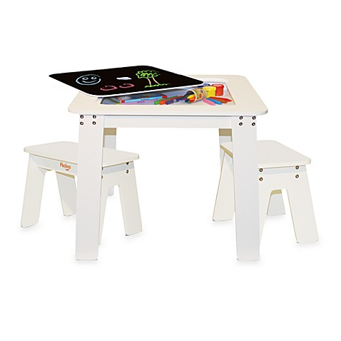 P'kolino™ Chalk Table with Benches