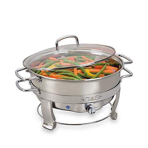 bella cucina 5-quart electric chafing dish - bed bath & beyond