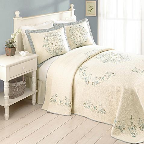 addie bedspread, 100% cotton - bed bath & beyond