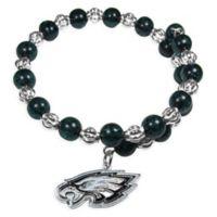 NFL Philadelphia Eagles Memory Wire Snowflake Bracelet