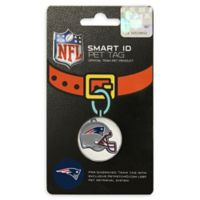 Pets First Company NFL New England Patriots Smart ID Pet Tag