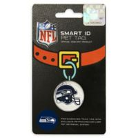Pets First Company NFL Seattle Seahawks Smart ID Pet Tag