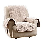 Sure Fit Quilted Pet Recliner Cover in Taupe