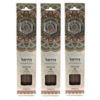 Karma Scents Vanilla Premium Incense with Jewel Holders
