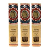 Karma Scents Sandalwood Premium Incense with Jewel Holders