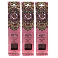 Karma Scents Rose Premium Incense with Jewel Holders