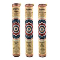 Karma Scents Sandalwood Premium Incense with Wooden Holders