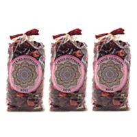 Karma Scents Rose Scented Potpourri (Set of 3)
