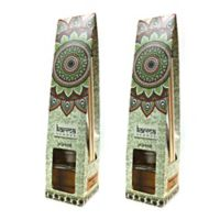 Karma Scents Jasmine Scented Aroma Diffuser (Set of 2)