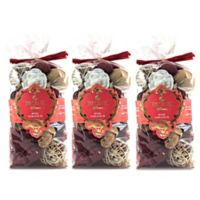 Esscents Home Fragrance Rose Geranium Scented Chunky Potpourri (Set of 3)