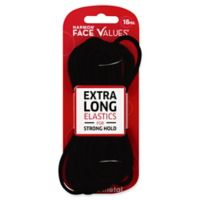 Harmon® Face Values™ 16-Count Elastic XL Thick Ponytail Holders in Black