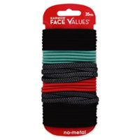 Harmon® Face Values™ 35-Count Elastic Ponytail Holders in Dots
