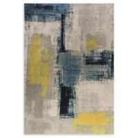 Dynamic Rugs Fusion Color Blocks 3'11 x 5'3 Area Rug
