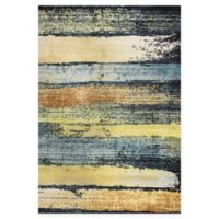 Dynamic Rugs Fusion Brushstrokes 6'7 x 9'6 Multicolor Area Rug