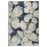 Dynamic Rugs Fusion Grandiflora 6'7 x 9'6 Area Rug in Blue/Grey