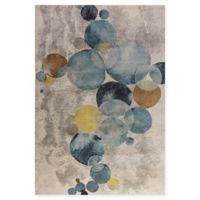 Dynamic Rugs Fusion Bubbles 6'7 x 9'6 Multicolor Area Rug