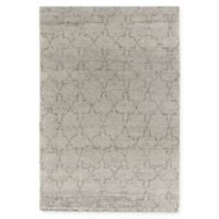 Capel Rugs® Fortress Star 7' x 9' Hand-Knotted Area Rug in Grey